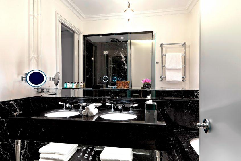The St. Regis Rome Luxury Hotel - Rome, Italy - Bottega Veneta Suite Master bedroom
