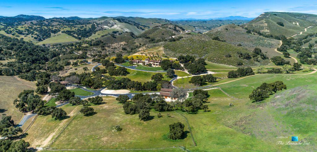 Pano - 2667 Via De Los Ranchos, Los Olivos, CA, USA - Drone Aerial Property View
