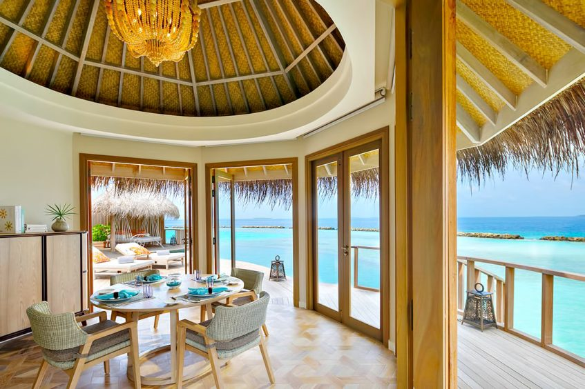 The Nautilus Maldives Luxury Resort - Thiladhoo Island, Maldives - Ocean Residence Ocean View