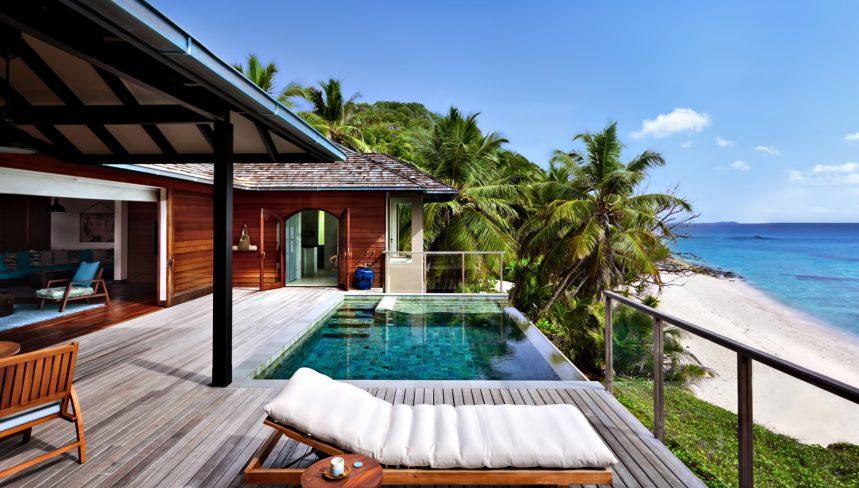 Six Senses Zil Pasyon Luxury Resort - Felicite Island, Seychelles - Signature Pool Villa Deck