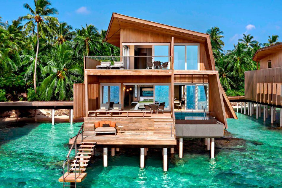The St. Regis Maldives Vommuli Luxury Resort - Dhaalu Atoll, Maldives - Two Bedroom Sunset Overwater Villa
