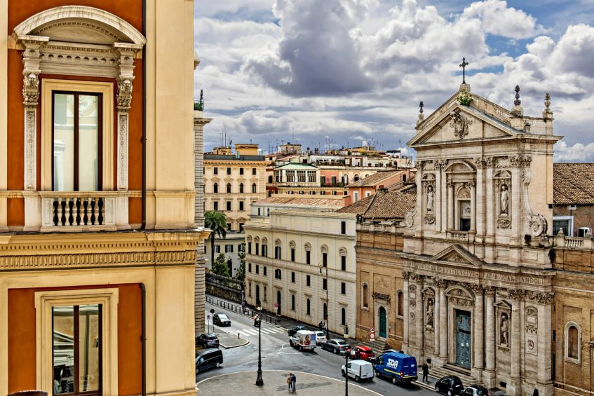 The St. Regis Rome Luxury Hotel - Rome, Italy - Guest Room View