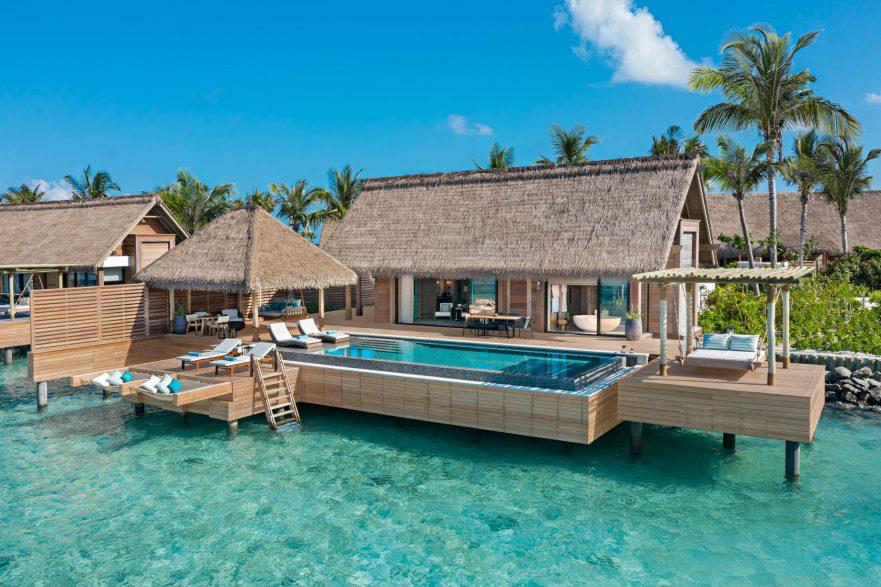 Waldorf Astoria Maldives Ithaafushi Luxury Resort - Ithaafushi Island, Maldives - Reef Overwater Villa