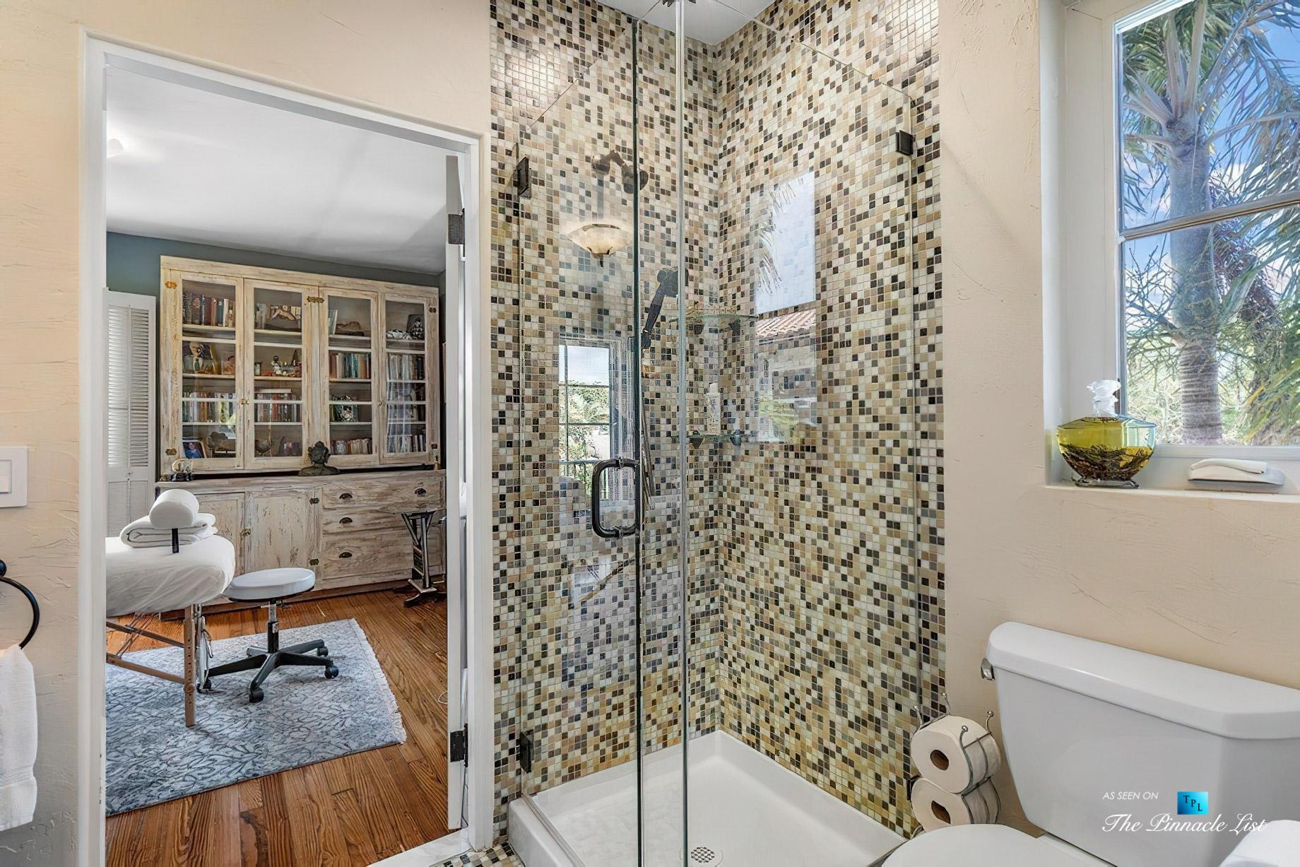 888 Oleander St, Boca Raton, FL, USA - Luxury Real Estate - Old Floresta Estate Home - Massage Room Shower