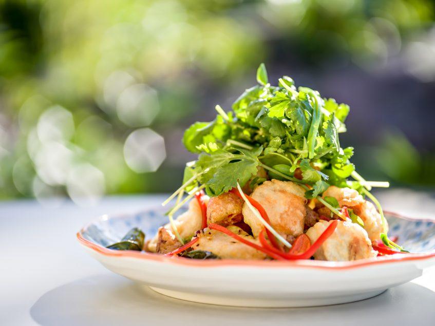 InterContinental Hayman Island Resort - Whitsunday Islands, Australia - Calamari Bam Bam Restaurant