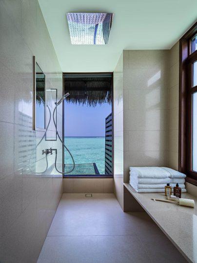One&Only Reethi Rah Luxury Resort - North Male Atoll, Maldives - Overwater Villa Master Bathroom