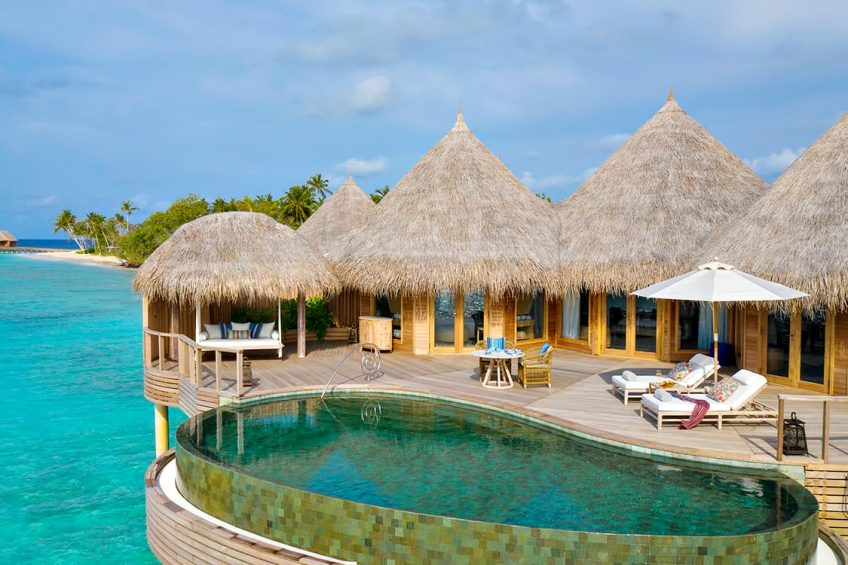 The Nautilus Maldives Luxury Resort - Thiladhoo Island, Maldives - Ocean Residence Infinity Pool