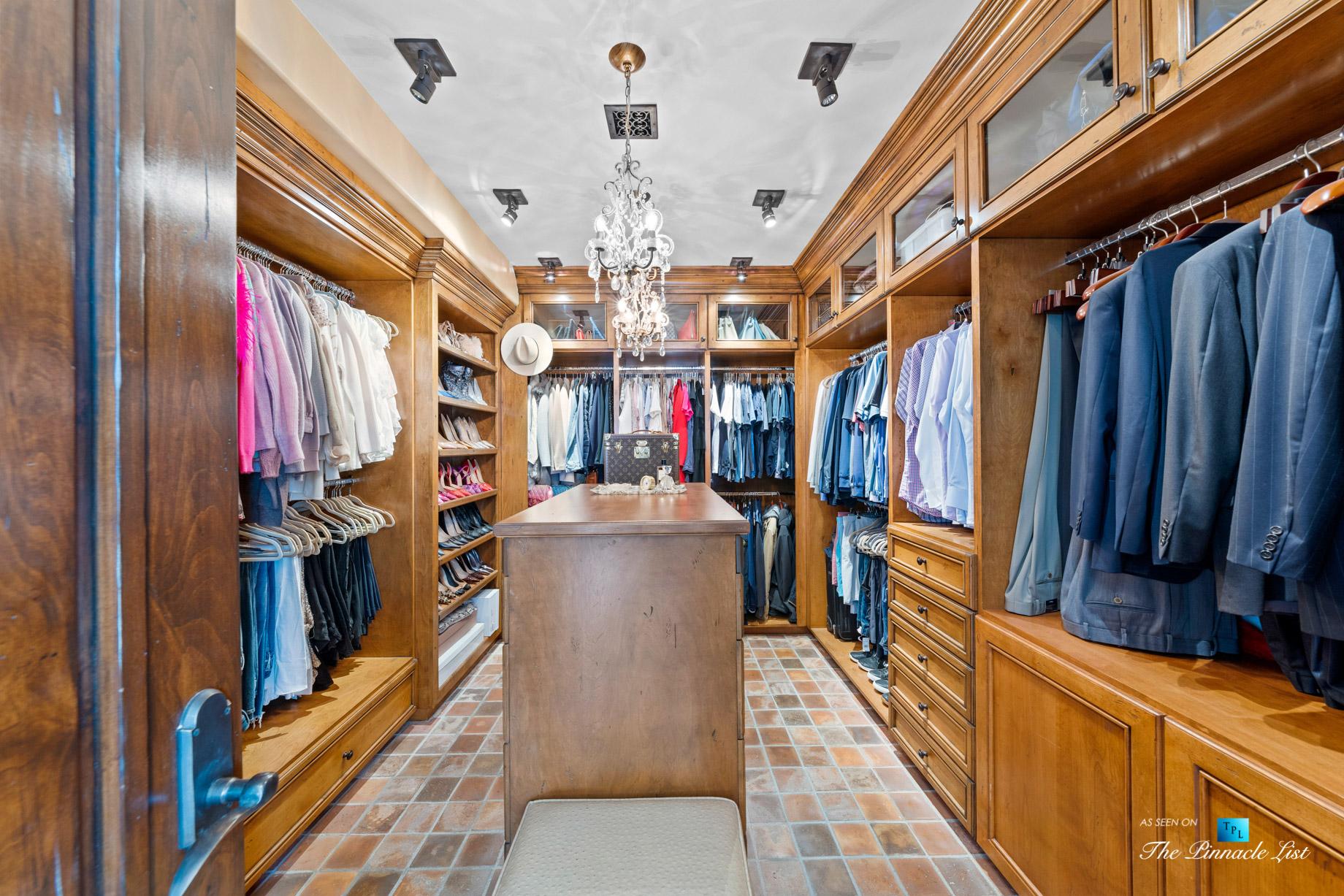 216 7th St, Manhattan Beach, CA, USA - Luxury Real Estate - Coastal Villa Home - Master Bedroom Walk In Closet