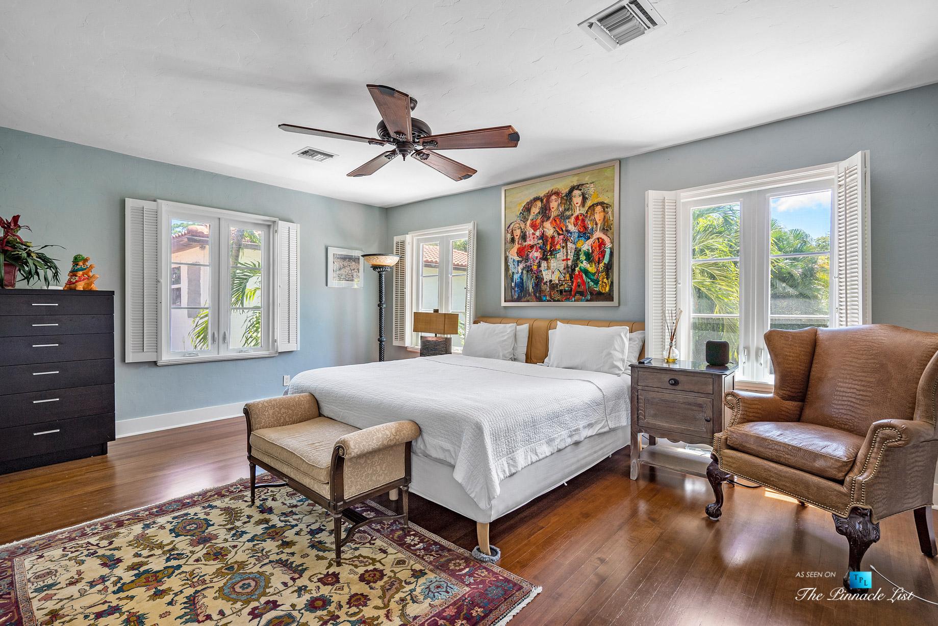888 Oleander St, Boca Raton, FL, USA – Luxury Real Estate – Old Floresta Estate Home – Bedroom