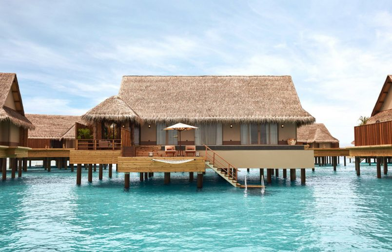 Joali Maldives Luxury Resort - Muravandhoo Island, Maldives - Water Villa Overwater View