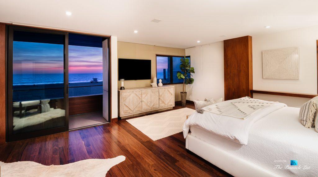 732 The Strand, Hermosa Beach, CA, USA - Master Bedroom Oceanview Sunset