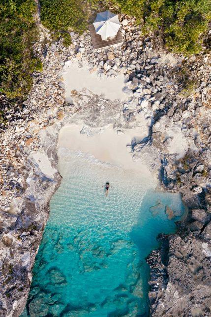 Amanyara Luxury Resort - Providenciales, Turks and Caicos Islands - Ocean Cove Pavilion Overhead