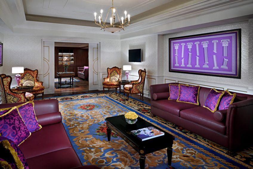 Palazzo Versace Dubai Hotel - Jaddaf Waterfront, Dubai, UAE - Executive Lounge