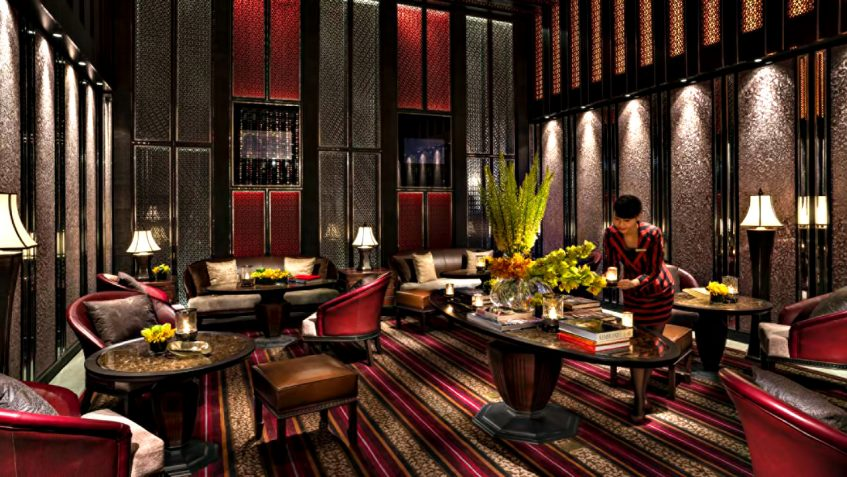 Regent Shanghai Pudong Luxury Hotel - Shanghai, China - Exclusive Lounge