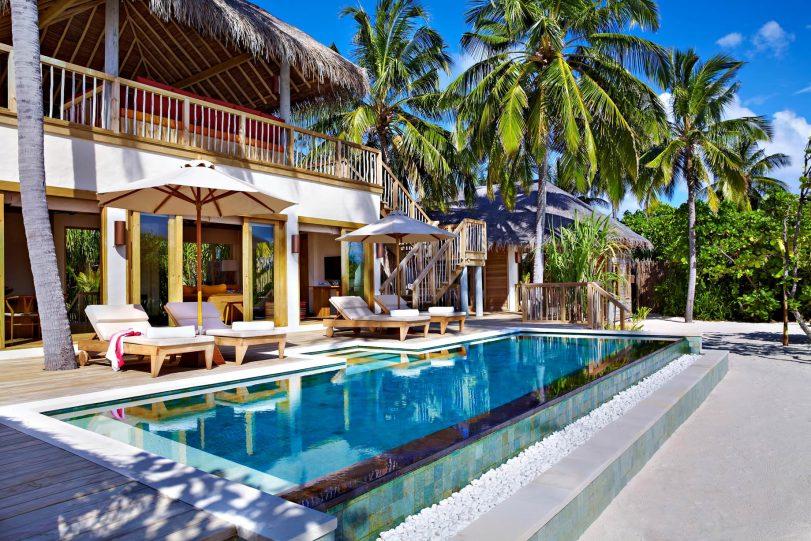 Six Senses Laamu Luxury Resort - Laamu Atoll, Maldives - Ocean Beachfront Villa Pool