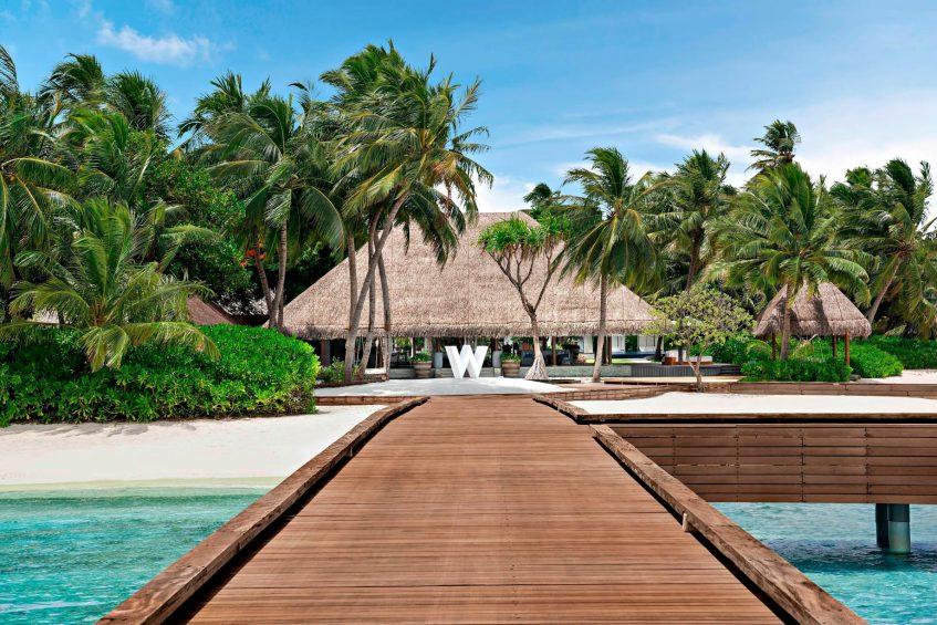 W Maldives Luxury Resort - Fesdu Island, Maldives - Arrival Jetty
