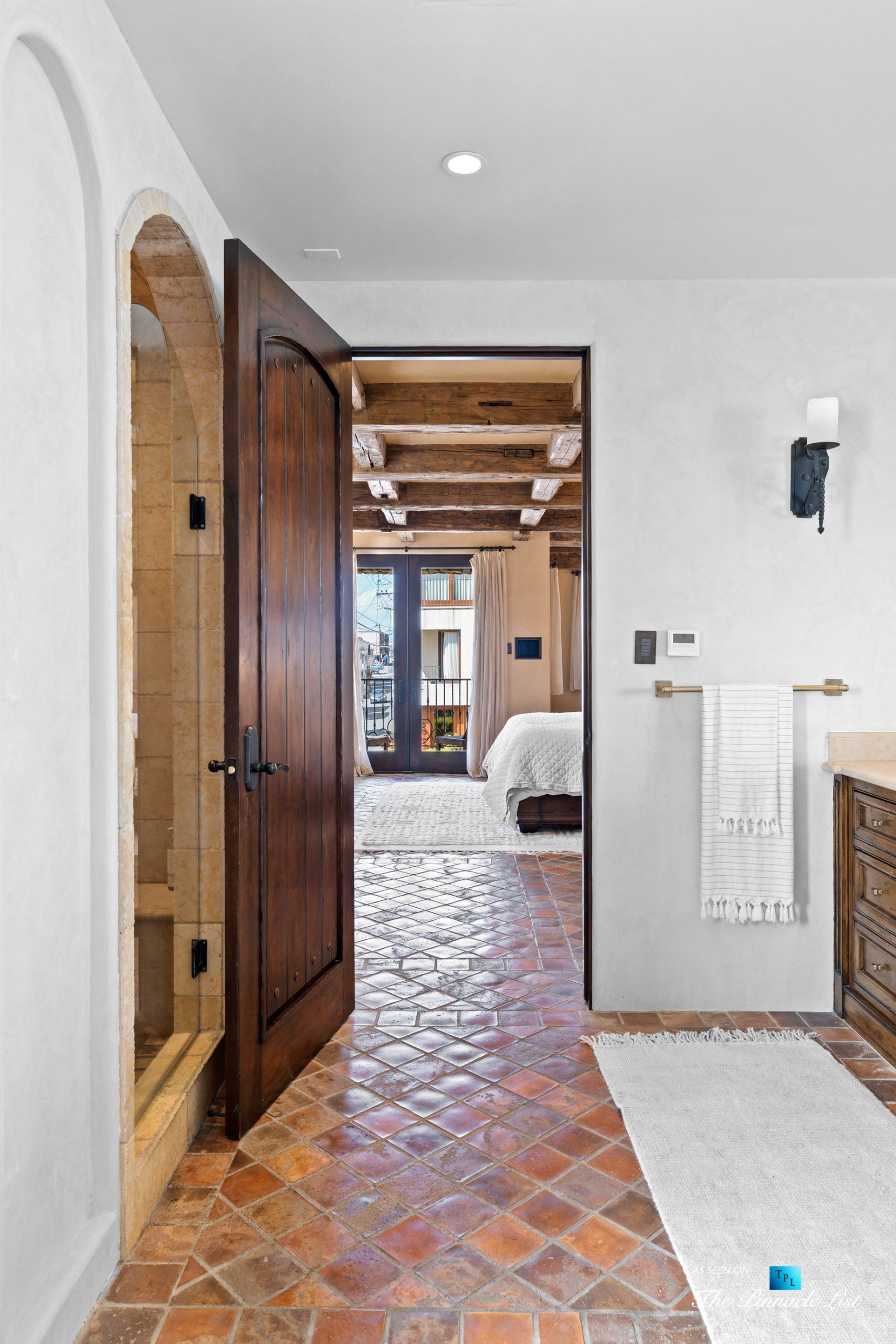 216 7th St, Manhattan Beach, CA, USA – Luxury Real Estate – Coastal Villa Home – Master Bathroom and Bedroom