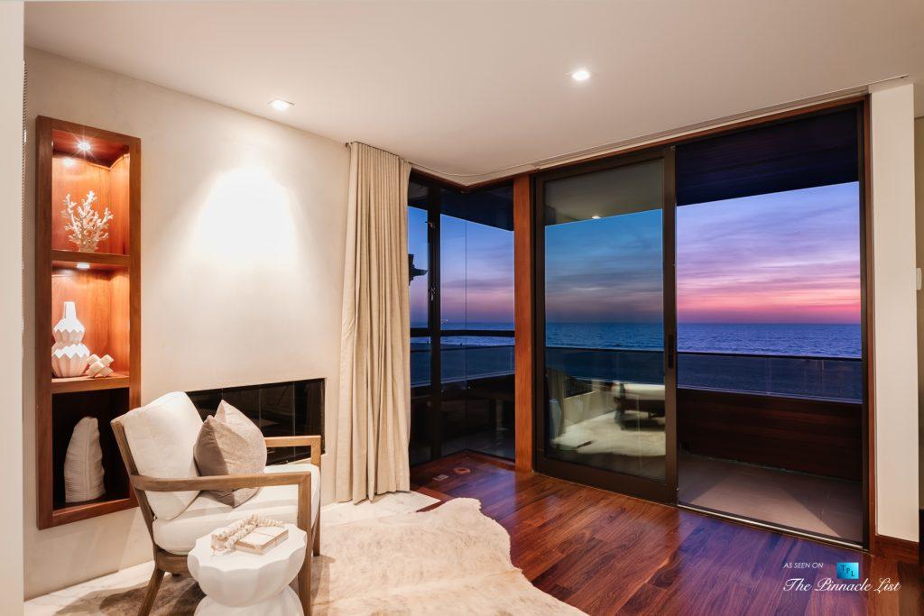 732 The Strand, Hermosa Beach, CA, USA - Master Bedroom Balcony Oceanview Sunset