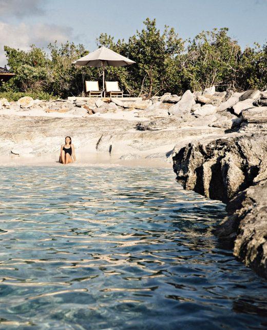Amanyara Luxury Resort - Providenciales, Turks and Caicos Islands - Ocean Cove Pavilion Beach