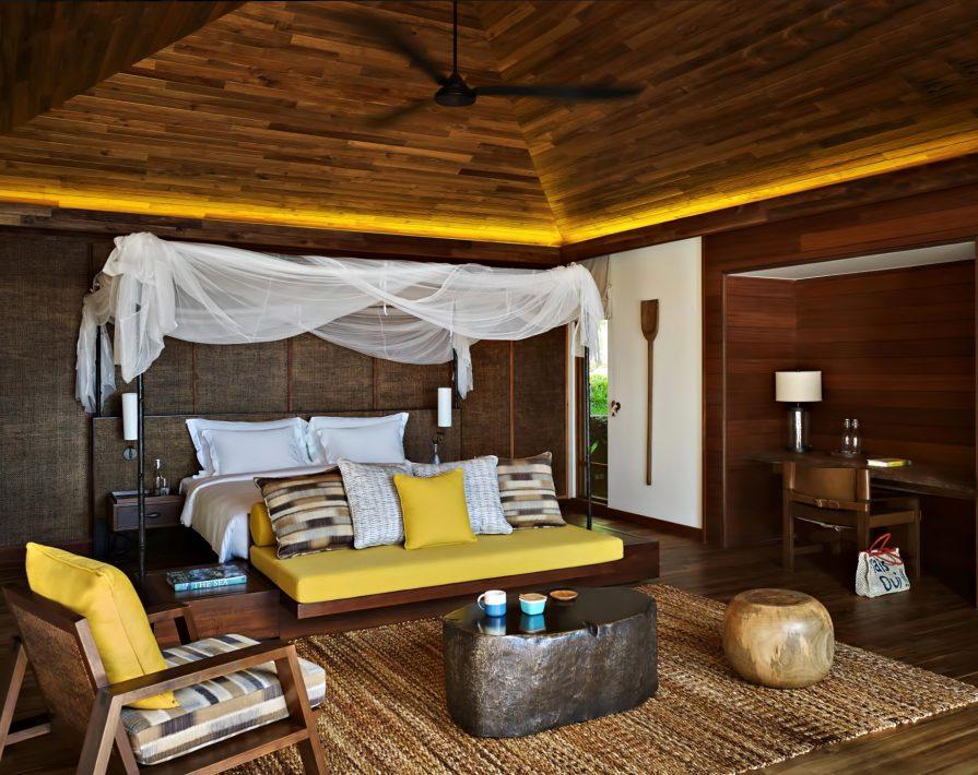 Six Senses Zil Pasyon Luxury Resort - Felicite Island, Seychelles - Two Bedroom Pool Villa Bedroom