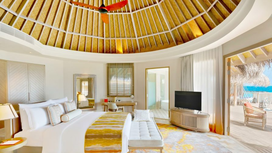 The Nautilus Maldives Luxury Resort - Thiladhoo Island, Maldives - Ocean Residence Bedroom