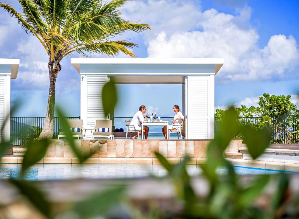 InterContinental Hayman Island Resort - Whitsunday Islands, Australia - Aqua Restaurant Private Cabana Dining