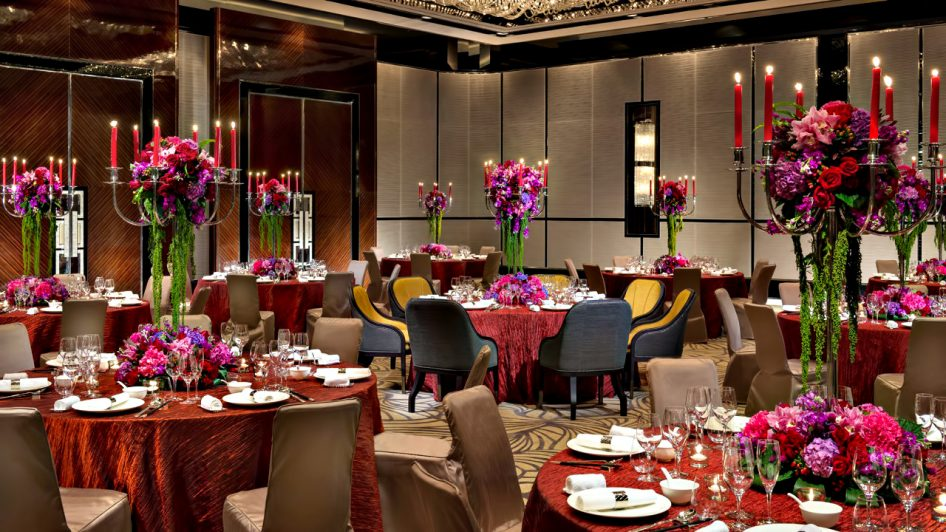 Regent Shanghai Pudong Luxury Hotel - Shanghai, China - Banquet Room