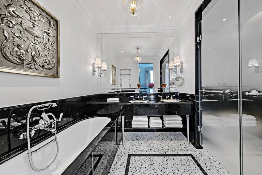 The St. Regis Rome Luxury Hotel - Rome, Italy - Superior Room Bathroom