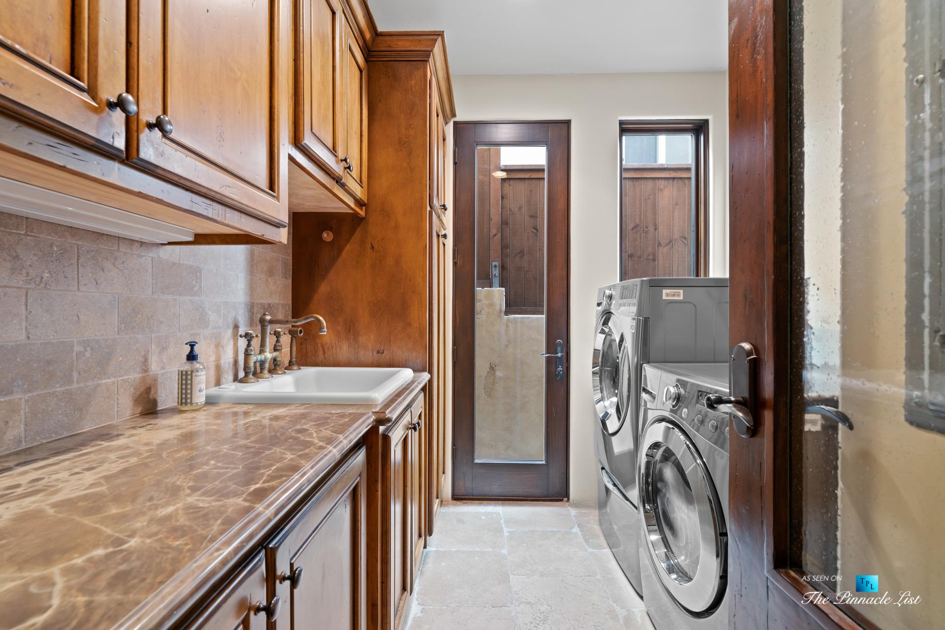 216 7th St, Manhattan Beach, CA, USA – Luxury Real Estate – Coastal Villa Home – Laundry Room