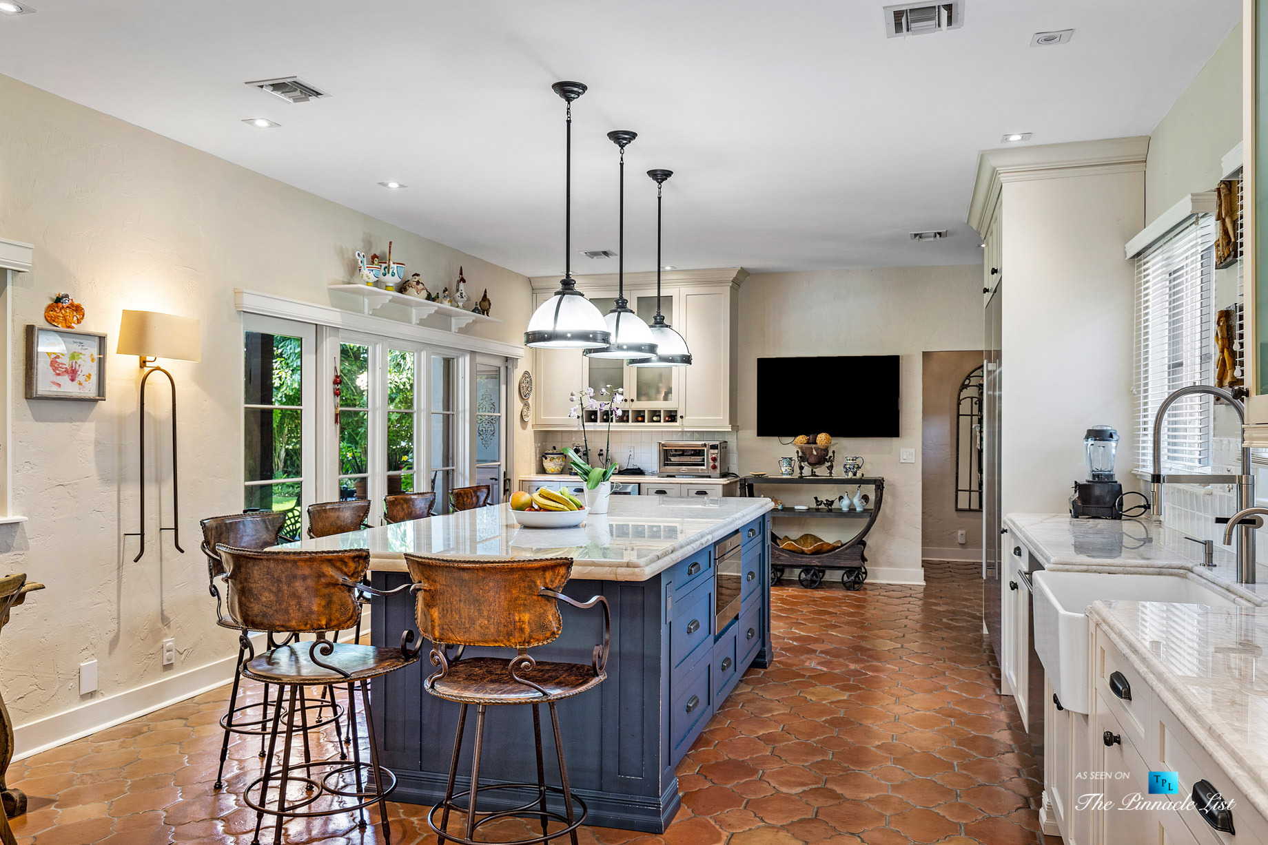 Addison Mizner Old Floresta Home – 888 Oleander St, Boca Raton, FL, USA - Kitchen