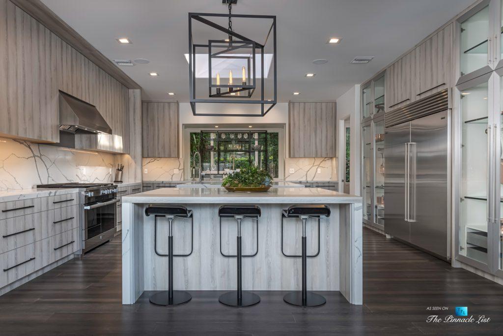 Beverly Hills Italian Villa Hilltop Estate - 2720 Ellison Dr, Beverly Hills, CA, USA - Kitchen