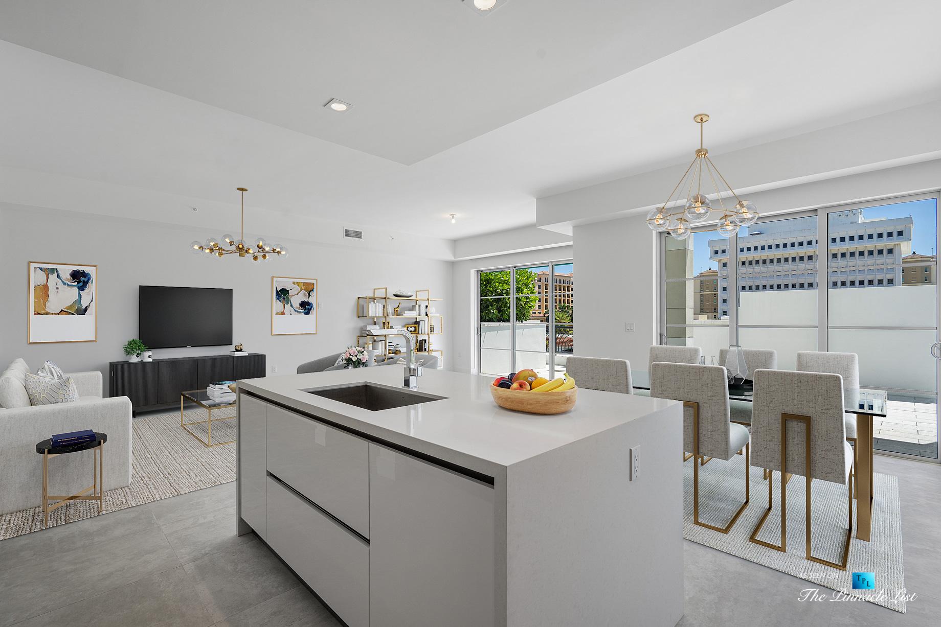 Boca Tower 155 Luxury Condo – Unit 416, 155 E Boca Raton Rd, Boca Raton, FL, USA – Kitchen
