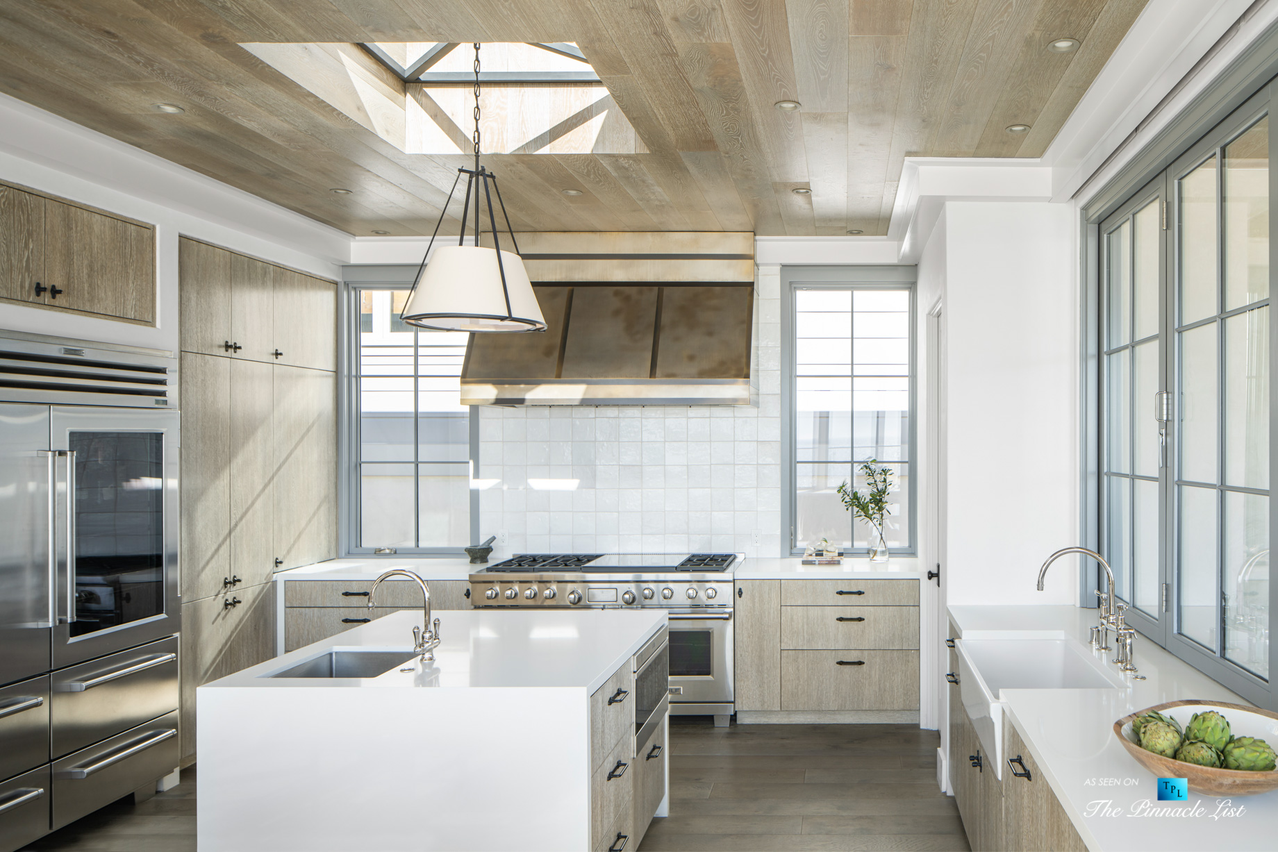 Exquisite Luxury Walk Street Home – 220 8th St, Manhattan Beach, CA, USA – Kitchen