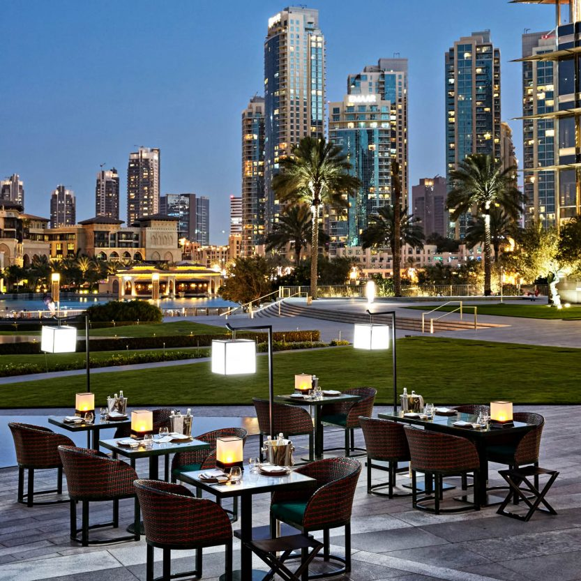 Armani Hotel Dubai - Burj Khalifa, Dubai, UAE - Armani Hashi Terrace