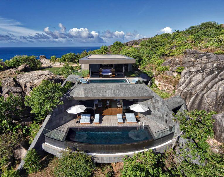 Six Senses Zil Pasyon Luxury Resort - Felicite Island, Seychelles - Three Bedroom Residence