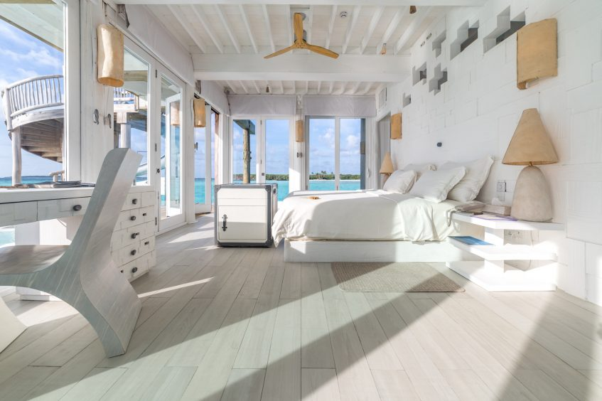 Soneva Jani Luxury Resort - Noonu Atoll, Medhufaru, Maldives - 3 Bedroom Water Reserve Villa with Slide Bedroom