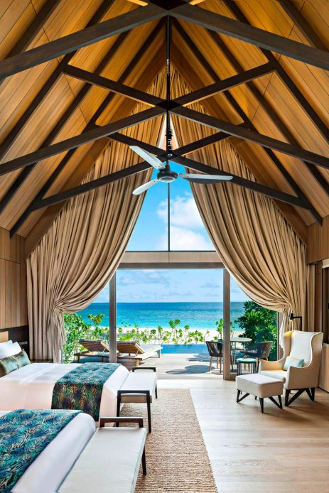 The St. Regis Maldives Vommuli Luxury Resort - Dhaalu Atoll, Maldives - Caroline Astor Estate Guest Room