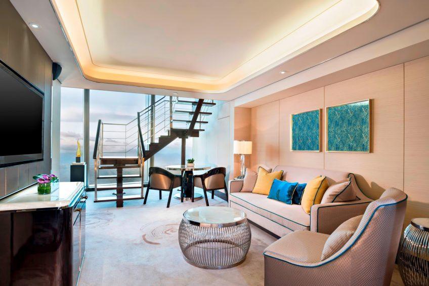 The St. Regis Shenzhen Luxury Hotel - Shenzhen, China - St. Regis Suite