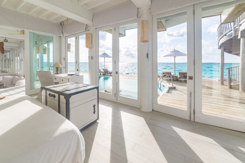 Soneva Jani Luxury Resort - Noonu Atoll, Medhufaru, Maldives - 3 Bedroom Water Reserve Villa with Slide Bedroom View