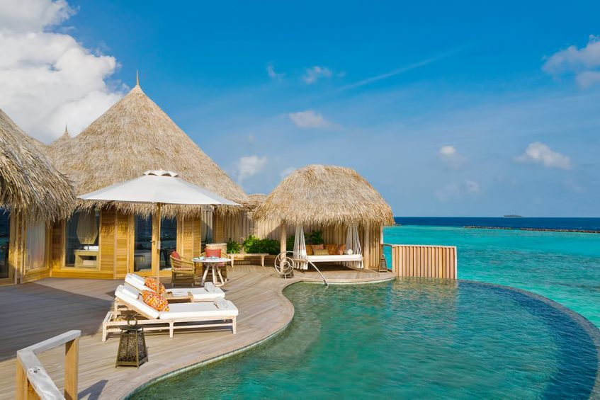 The Nautilus Maldives Luxury Resort - Thiladhoo Island, Maldives - Over Water Infinity Pool
