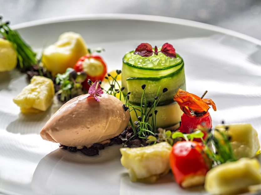 Tschuggen Grand Luxury Hotel - Arosa, Switzerland - Refined Gourmet Cuisine