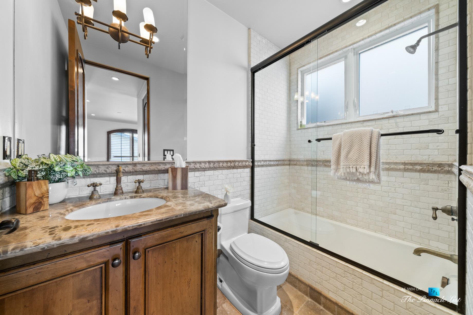 216 7th St, Manhattan Beach, CA, USA – Luxury Real Estate – Coastal Villa Home – Guest Bathroom