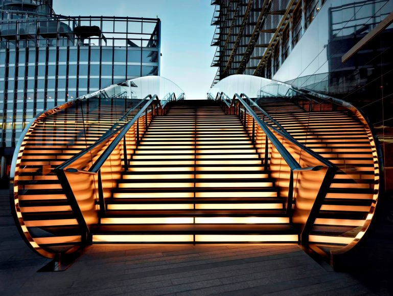 Armani Hotel Dubai - Burj Khalifa, Dubai, UAE - Armani Hotel Stairs
