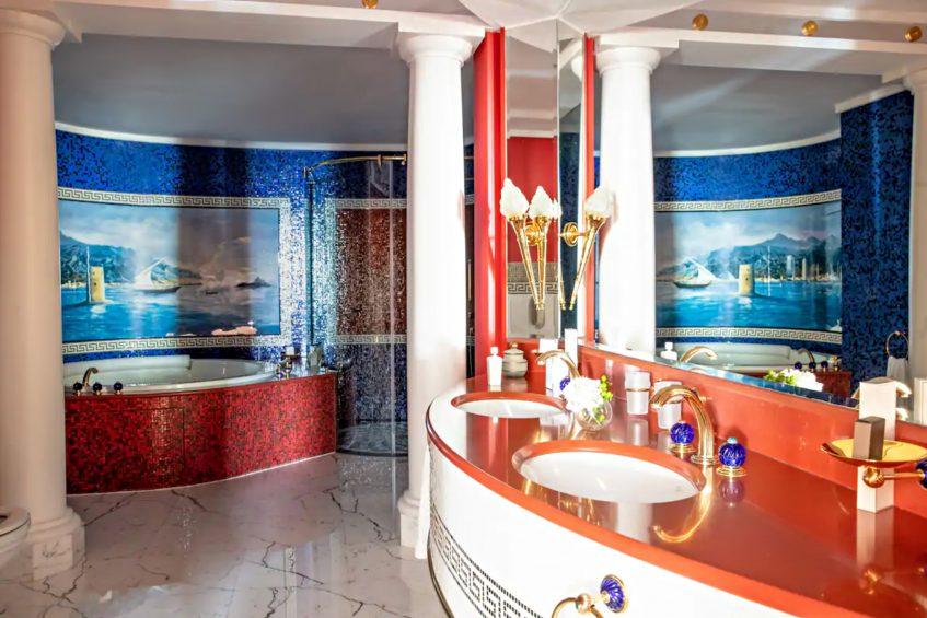 Burj Al Arab Luxury Hotel - Jumeirah St, Dubai, UAE - Suite Bathroom