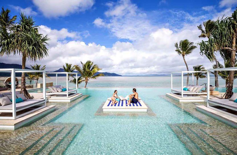 InterContinental Hayman Island Resort - Whitsunday Islands, Australia - Infinity Pool Lounge