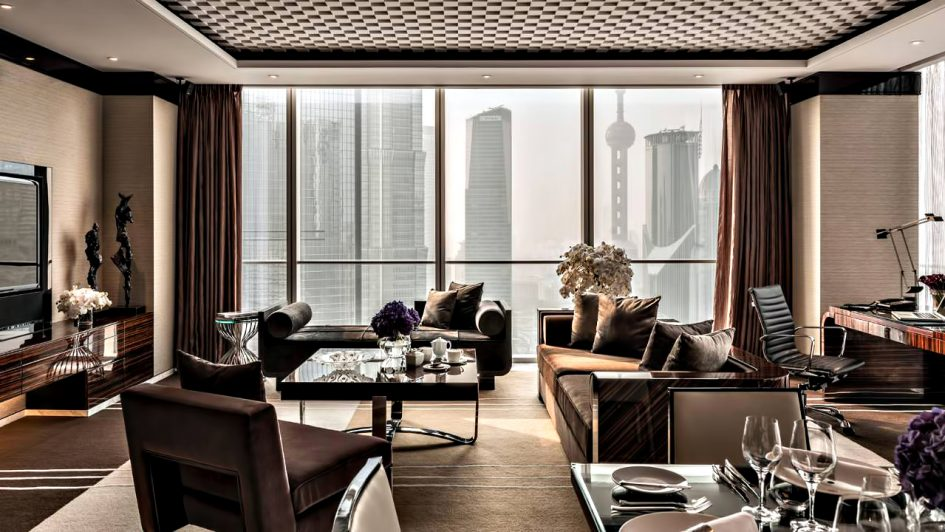 Regent Shanghai Pudong Luxury Hotel - Shanghai, China - Deluxe Room