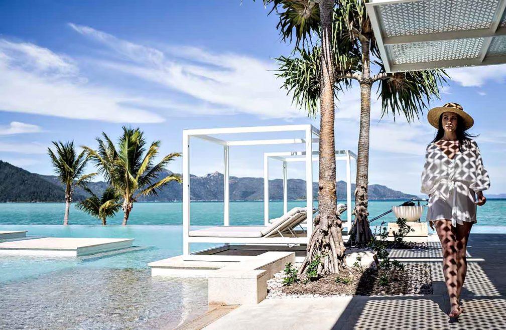 InterContinental Hayman Island Resort - Whitsunday Islands, Australia - Infinity Pool Deck