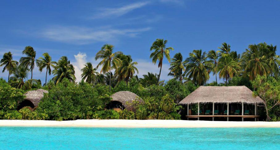 Six Senses Laamu Luxury Resort - Laamu Atoll, Maldives - Private Island White Sand Beach View