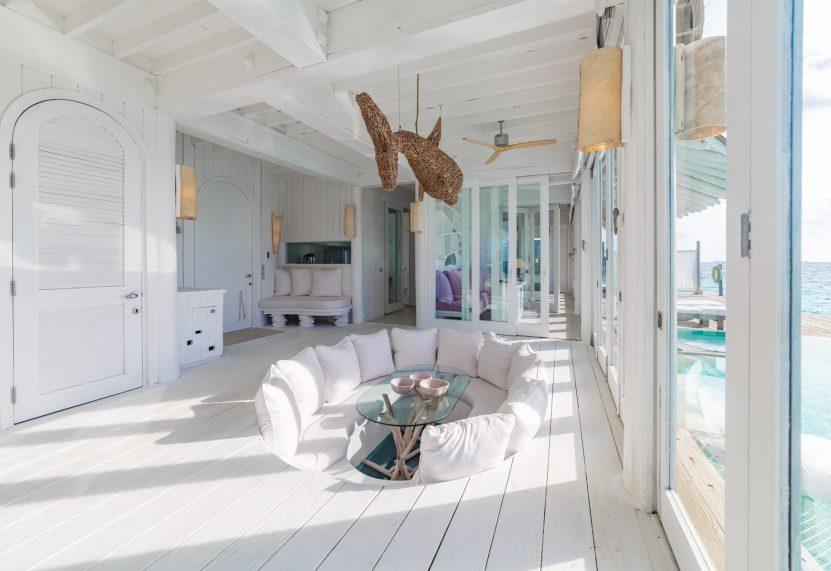 Soneva Jani Luxury Resort - Noonu Atoll, Medhufaru, Maldives - 3 Bedroom Water Reserve Villa with Slide Living Area
