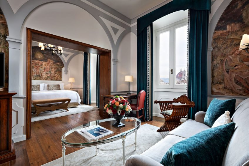 The St. Regis Florence Luxury Hotel - Florence, Italy - Junior Suite City View